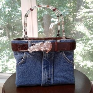 9fa45852 Bootie Bag With Tag and Brighton Horse Buckle Belt